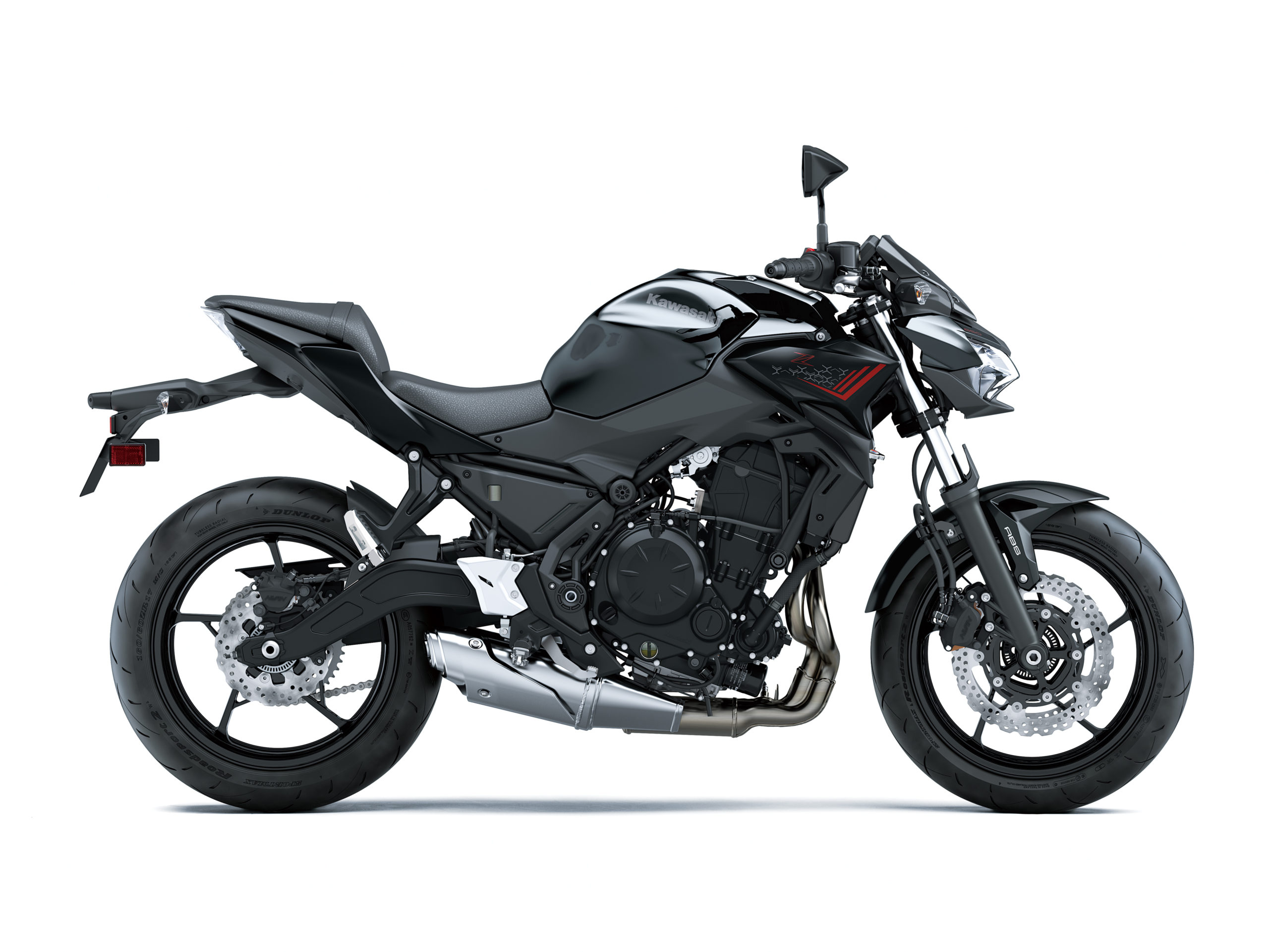 Z650 2021 Noir et rouge
