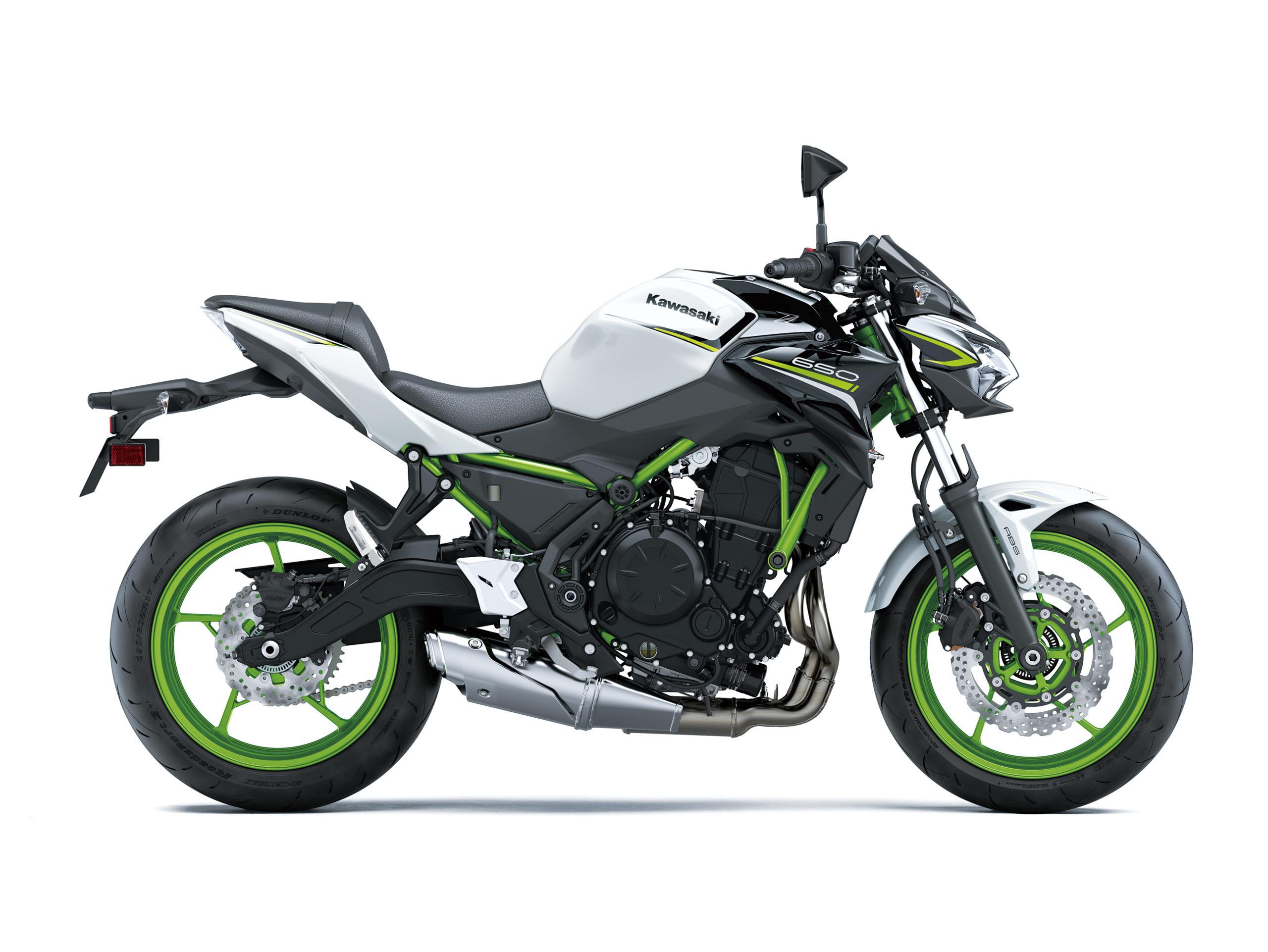 Z650 2021 blanc et noir