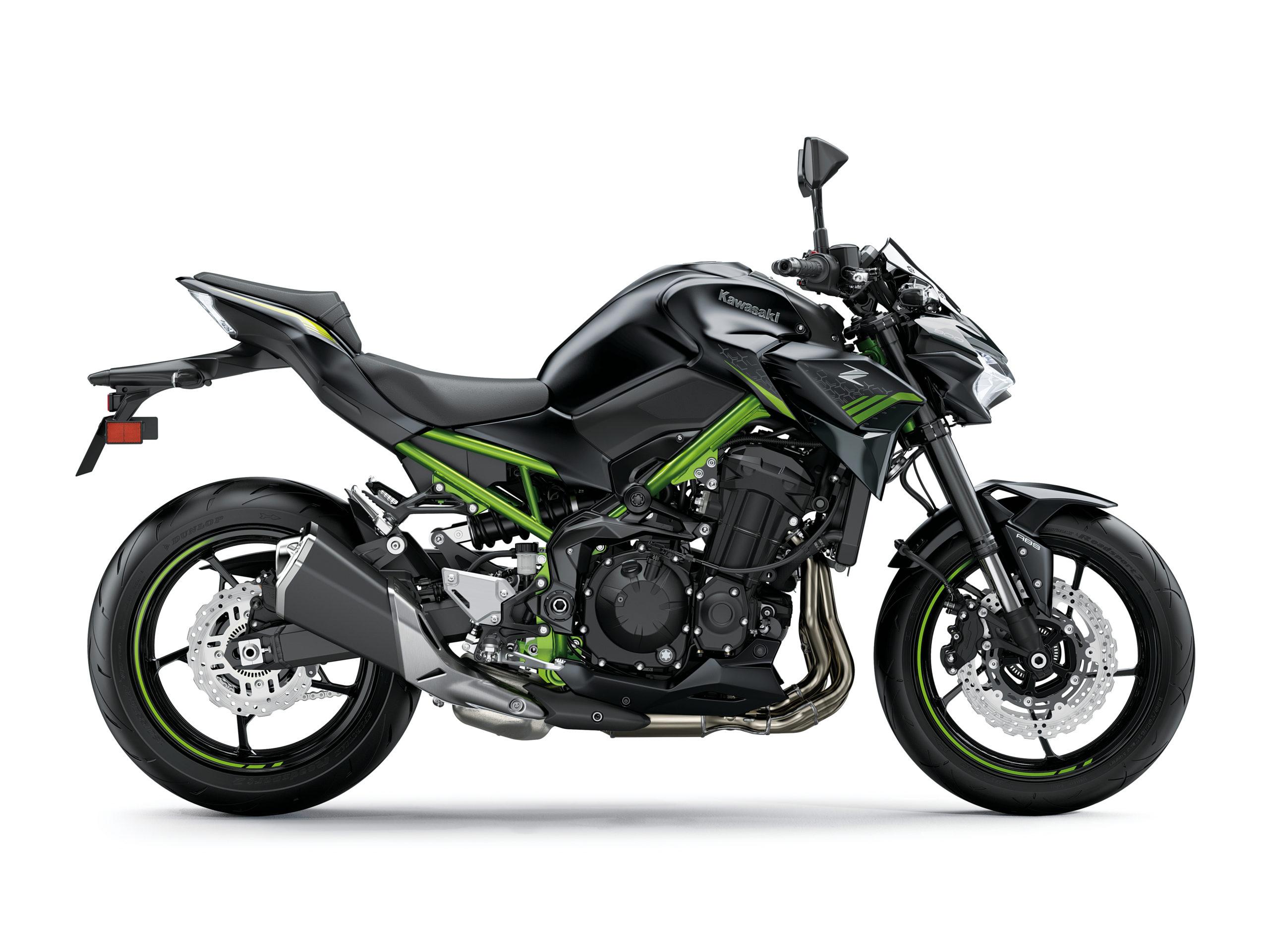 Z900 2021 Noir et vert
