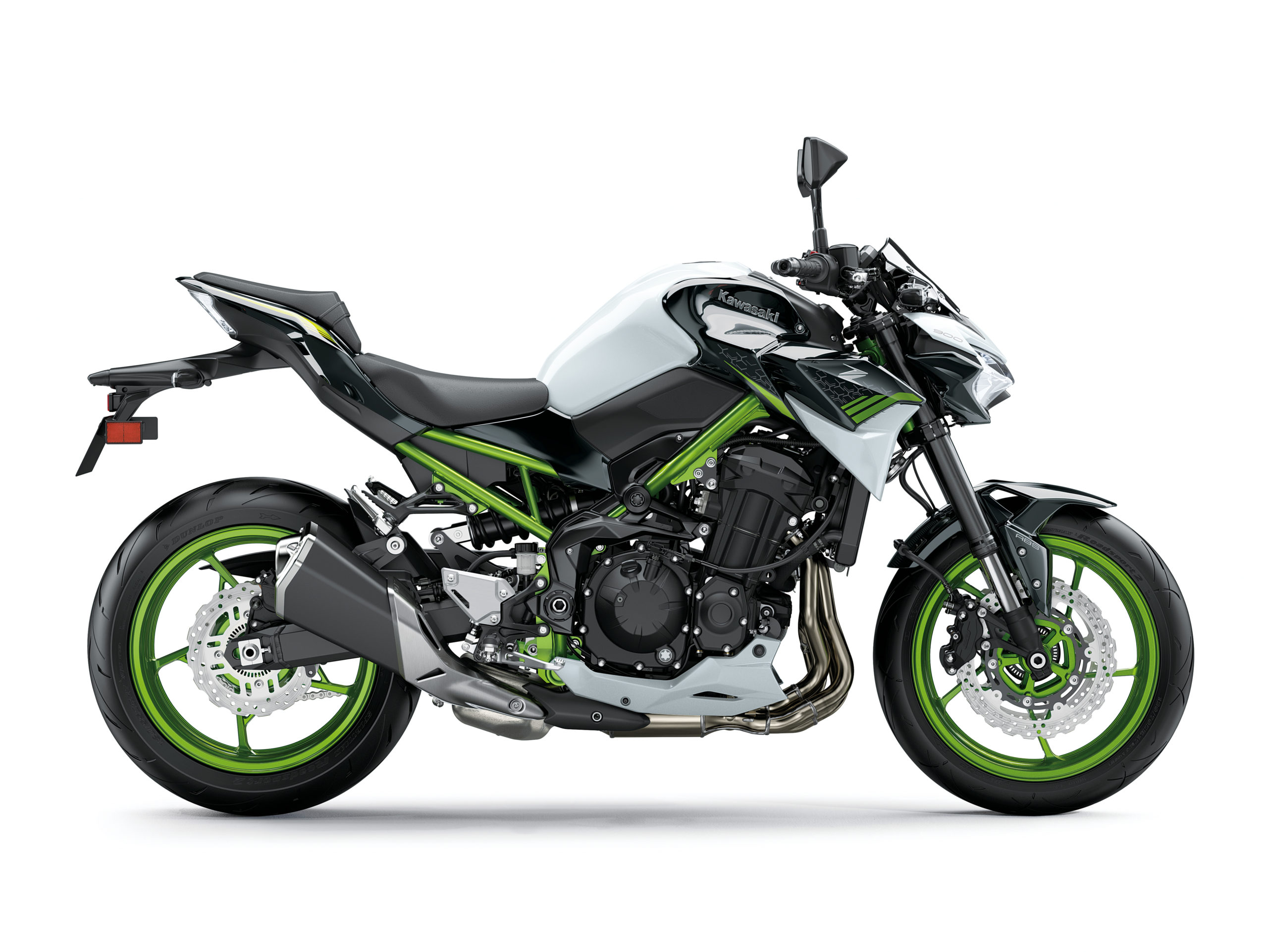 Z900 2021 Blanc et noir