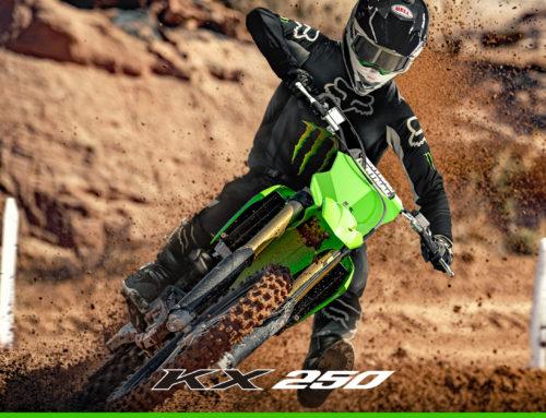 Nouveauté Kawasaki 2021 : la KX250 nouvelle génération débarque !
