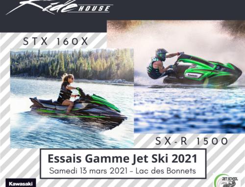 Essais jet ski 2021 : testez le SX-R 1500 et le STX 160X