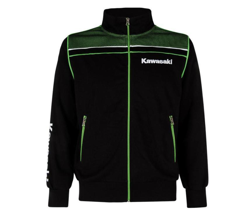 Sweat Kawasaki zippé