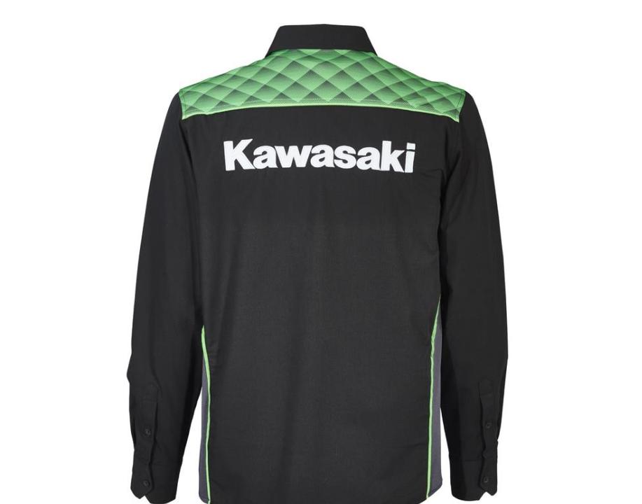 chemise manches longues kawasaki